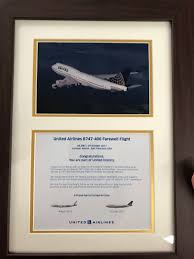 United Airlines Carry On United 747 Farewell Master Thread Page 35 Flyertalk Forums