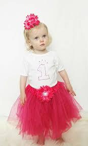 1st birthday tutu baby 1st birthday princess pink tutu set