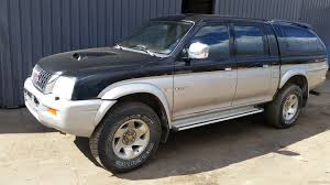 mitsubishi pickup 1980 nettivaraosa mitsubishi l200 pickup 4x4 2003 spare and crash