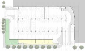 parking lot floor plan brooks scarpa santa monica parking garages