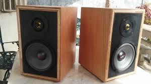 Bookshelf Computer Speakers Home Made Diy Bookshelf Speakers Test Vintage Look Modern Sound