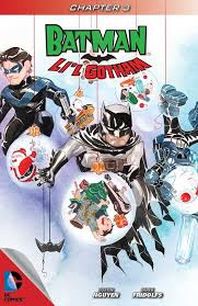 batman li l gotham 2 thanksgiving issue