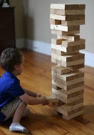 How To Make Backyard Jenga by 17 Apart How To Build A Diy Giant Jenga Stacking Game