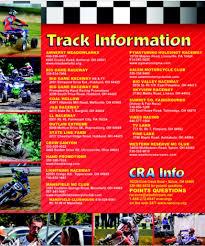 motocross race schedule 2015 2015 cra schedule pitracer com