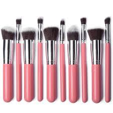 sale 10pcs nylon hair synthetic kabuki brush set xmy mk029