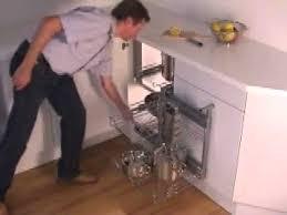 Magic Kitchen Cabinets Häfele Magic Corner Ii Youtube