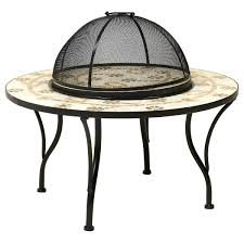 mosaic electric patio heater charles bentley flower mosaic fire pit buydirect4u