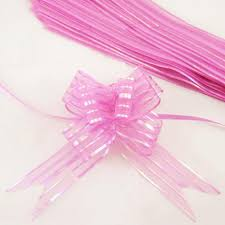 pull ribbon organza pom pom pull bow ribbon flowe end 6 8 2016 6 15 pm