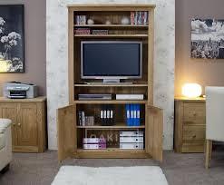 prague solid oak bookcase tv cabinet oak tv stands