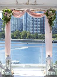 wedding arches rental vancouver science world wedding august 7 2015 vancouver wedding planner