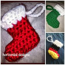 studio create free crochet pattern marvelous mini stocking ornament