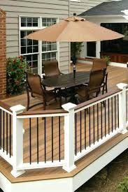 entertain your guests in style with this horizon composite deck