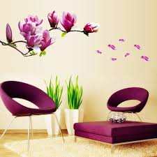 Beautiful Wall Decals Ideas Art And Design - Beautiful wall designs for living room