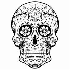 sugar skull drawings images for tatouage
