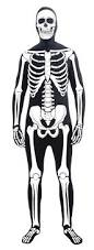 2nd skin halloween costumes ss329 second skin suit bone man skin suit morphsuits asst
