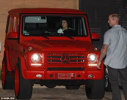 kris jenner mercedes suv jenner shows mercedes g wagon ahead of 18th birthday