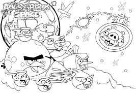 angry birds space best coloring pages free coloring pages