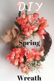 Wreath Diy Spring Wreath Diy Youtube