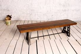 Industrial Bench Seat Bench Seats Crank Furniture Co Boutique Creative Fine