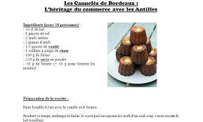 marmiton org recettes cuisine recette les cannelés de bordeaux histoire et géo au collège st jo