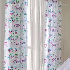 voilage pour chambre bébé voilage chambre bébé blanc avec motif hibou chouette l jurassien