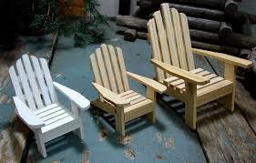 Miniature Adirondack Chair Wooden Miniature Beach Chairs Best House Design Miniature Beach