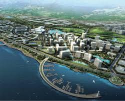 Dalian China Map Tsw Dalian New Airport Business District