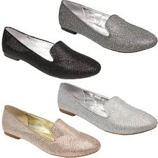 wedding shoes office womens flat glitter dandy loafer office pumps party wedding