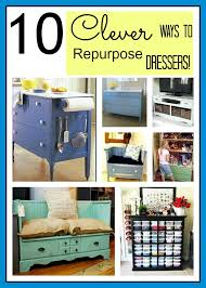 How To Turn A Dresser Into A Bookshelf 10 Clever Ways To Repurpose A Dresser A Cultivated Nest