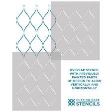 stencils for home decor serenity trellis design stencil pattern decorative wall stencils