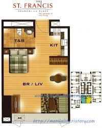 shangri la st francis tower floor plan and unit layout manila