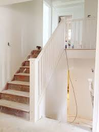 after dark split level staircase opened up laurier heights home