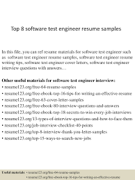 Sample Resume For Experienced Testing Professional by Resume Samples For Experienced Testing Professionals Free Resume