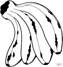 download coloring pages banana coloring page banana coloring