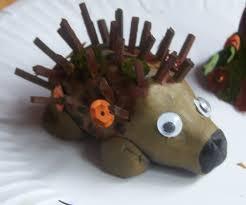 james u0026may arts and crafts blog children u0027s clay hedgehog u0027s