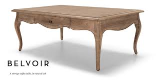 ash coffee table with drawers belvoir storage coffee table in natural ash ash storage ideas and