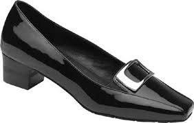 179 drew shoes amanda womens commuter comfort sz 9 5w wide patent