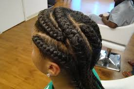 three columns gallery with pagination hair braiding salon