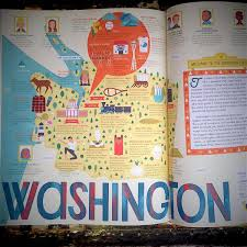Map Of Destiny Usa by The 50 States U2013 A Children U0027s Book Of Maps Crammed