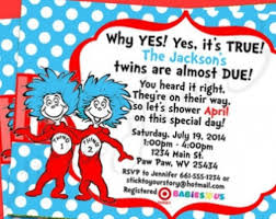 thing 1 and thing 2 baby shower shower invitation top 15 thing 1 and thing 2 baby shower invitations