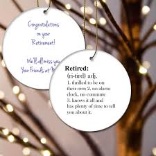 retired definition ornament engraved gift collection