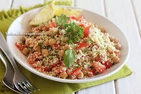 cuisine salade taboulé aux pois chiches