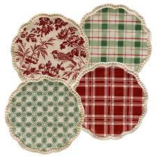 horderve plates grasslands road christmas appetizer plates from elizabeth s