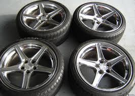 Mustang Black Chrome Wheels Fs Orig Saleen 18