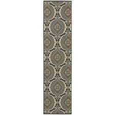 Blue Brown Area Rugs Traditional Rug Chloe 3976a Blue Traditional Rug By Oriental