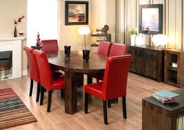 Brown Leather Chairs For Dining Dining Room Leather Chairs Knight Home T Stitch Chocolate Brown