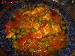 cuisiner du saumon au four saumon aux olives et poivrons rouges au four prissou cook journal