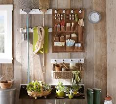 Pottery Barn Evergreen Walk The Organized Life Garden Shed Storage System From Pottery Barn