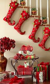 Christmas Railing Decorations Christmas Staircase Decorating Ideas Pink Lover