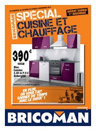 cuisine bricoman bricoman spécial cuisine et chauffage cataloguespromo com